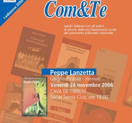 Peppe Lanzetta: Manifesto Com&Te
